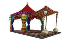 proposed 'Hari Raya' deco for Alam Sentral Mall Ganpati Decoration At Home, Exhibition Booth, Booth Design, Pavilion, Ramadan, Event Design, Mall, Gazebo, Outdoor Structures