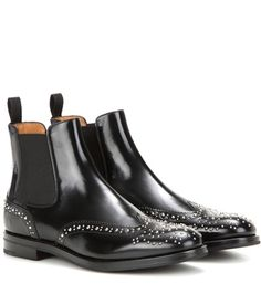 Church's Ketsby Embellished Leather Chelsea Boots For Spring-Summer 2017
