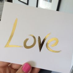 Real Silver foil print, Pink foil print or Gold Foil Print, Love art Love art print, Gold Art, Typographic Print, gold foil love,Unique gift by FADEDinkDesigns on Etsy https://www.etsy.com/listing/227012675/real-silver-foil-print-pink-foil-print