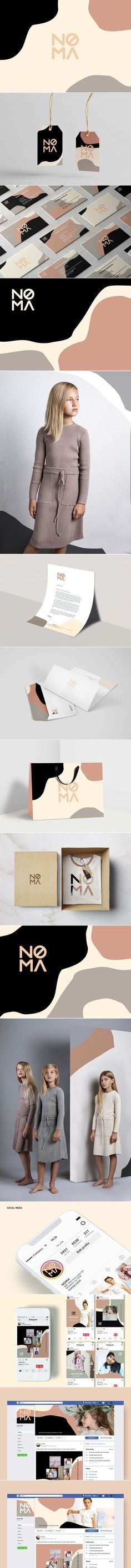 NOMA – Fivestar Branding Agency - What is fashion design first? Fashion design is a concept that can be widely used, which includes the necessary features of design in order to create clothes or vario Logo Branding, Branding Agency, Business Branding, Business Card Design, Brand Identity Design, Graphic Design Branding, Design Agency, Inspiration Logo Design, What Is Fashion Designing