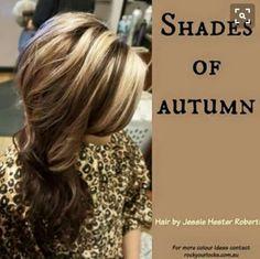 Shades of autumn by rockyourlocks.com.au
