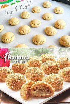 Telli Baba Tatlısı Recipe, How To – Pastry Easy Cake Recipes, Cookie Recipes, My Recipes, Dessert Recipes, Ramadan Desserts, Turkey Cake, Turkish Sweets, Recipe Mix, Sweet Pastries