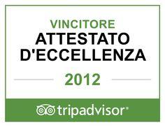 Certificato eccellenza 2012