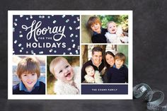 Hip Hip Hooray Christmas Photo Cards by Sarah Brown at minted.com
