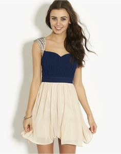 Little Mistress 2in1 Embellished Prom Dress | BANK Fashion