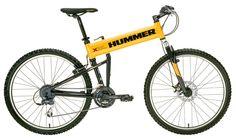 Hummer folding mtn bike