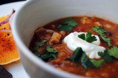 Chipotle Chicken & Tomato Soup