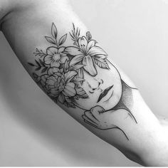 42 Fashionable Arm Tatoo Ideas for Woman In 2019 - Page 14 of 42 - PinningFashionPinningFashion Bicep Tattoo Women, Inner Forearm Tattoo, Small Forearm Tattoos, Head Tattoos, Mini Tattoos, Flower Tattoos, Body Art Tattoos, Small Tattoos, Inner Arm Tattoos