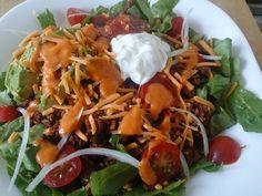 Suzanne's Kitchen : Taco salad!