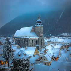 Fly Around The World, Around The Worlds, Brasov Romania, Backpack Through Europe, Milan Cathedral, Visit Prague, Scenic Photography, Winter Is Coming, Eastern Europe
