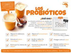 ¿Qué son los Probióticos? #saludable #nutricion #salud #consejos #probioticos