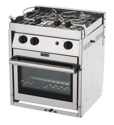 Force10 63253 2 Burner Gimballed Galley Range North American Compact