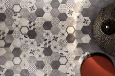 Full-body porcelain stoneware wall/floor tiles TERRA by Ceramiche Marca Corona click the image or link for more info. Tiles, Flooring, Hexagon Tiles, Tile Patterns, Ceramic Floor, Ceramic Tiles, Wall And Floor Tiles, Tile Floor, Interior Walls