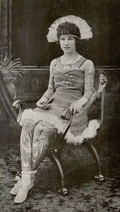 39 Astonishing Vintage Portrait Photos of Tattooed Ladies From the Late 19th and Early 20th Centuries