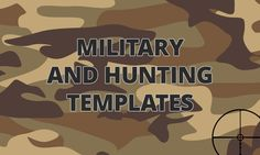 Have Fun with Guns: 15 Military and Hunting Templates for Business Websites