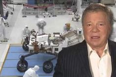 William Shatner voices @NASA video about #Mars rover Curiosity : 2 good things together :)