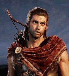 Assassin's Creed Odyssey - Alexios: Assassins Creed Game, Assassins Creed Odyssey, Film Manga, Cinematic Trailer, Assassin's Creed, Popular Culture, Beautiful Men, Handsome, Gladiators