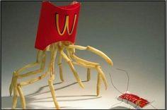Living McDonald's food McCreepy