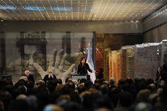 Cristina Fernández deja inaugurado el Museo del Bicentenario