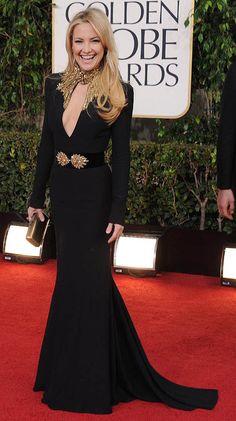 Kate's black silhouette