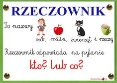 Polish Language, Secondary School, Kids And Parenting, Homeschool, Classroom, How To Plan, Education, Learning, Blog