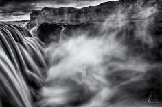 Starting the day with a black and white processed version of this beautiful waterfall in Iceland. My Photo Book, Iceland Waterfalls, Beautiful Waterfalls, Book Projects, My Portfolio, Landscape Photography, Black And White, Artwork, Pictures