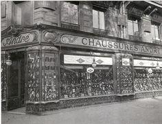 1907 - Magasin du boulevard Sébastopol