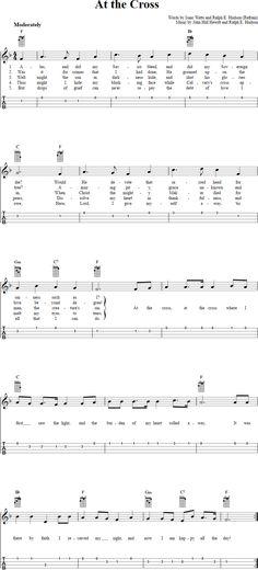 14 Best Hymns Uke Images On Pinterest Tablature Ukulele Tabs And