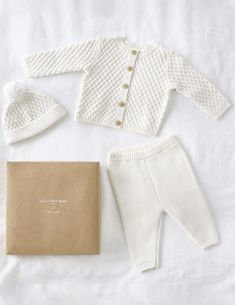 Knitted Baby Outfits, Knitted Baby Clothes, Organic Baby Clothes, Baby Outfits Newborn, Cute Baby Clothes, Baby Boy Outfits, Babies Clothes, Baby Boy White Outfit, Baby Boy Baptism Outfit