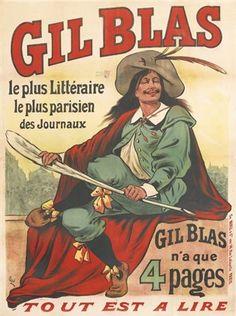 Gil Blas par Eugène Ogé