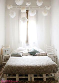 Resultado de imagem para cama suspensa de paletes