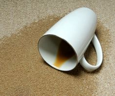 How to Clean Coffee Stains on Carpet. Find out at Orange County Carpet Cleaning Blog.