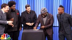 David Blaine Amazes Jimmy Fallon and The Roots With 'Simple' Magic Tricks