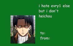 Attack on Titan / Shingeki no Kyojin || valentine
