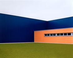 by Josef Schulz / Sachliches: Halle blau #1, 2001