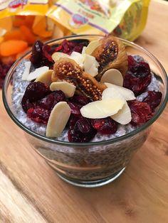 Chia puding aszalt gyümölcsökkel - VIDEÓVAL! I Chia pudding with dried fruits - VIDEO