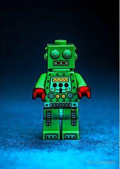 Robbie the Robot Rockets, Robot, Lego, Random, Character, Lockets, Robots, Legos, Casual