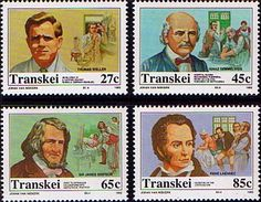 Transkei 1992 Celebrities of Medicine Set Fine Mint                    SG 281 4 Scott 267 70 Other African and British Commonwealth Stamps HERE!
