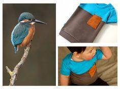 Vera Luna: Kingfisher shirt