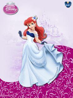 DisneyPrincess - Ariel3 ByGF by ~GFantasy92 on deviantART