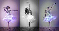 TuTu Tuesday! UV E-textile Skirt by Black Market Tutus  Barrett    Nicolle by DJCarbon43, via Flickr