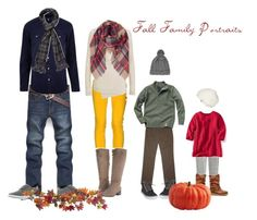 Fall Family Portrait Outfits by emibphotography