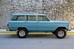 """hemmingsmotornews: """" Lifted driver-quality 1975 Jeep Wagoneer for sale on Hemmings.com. """""""