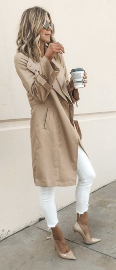 Nordstrom Coats - The Best Trench Coat from The Nordstrom Anniversary Sale Fall Outfits, Casual Outfits, Fashion Outfits, Womens Fashion, Nordstrom Coats, Mode Pop, Mode Simple, Outfits Damen, Cooler Look