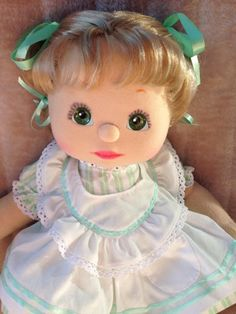My Child Doll Ash Blonde DR Green Grape/Charcoal