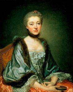 Madame Georges Gougenot de Croissy by Greuze, 1757