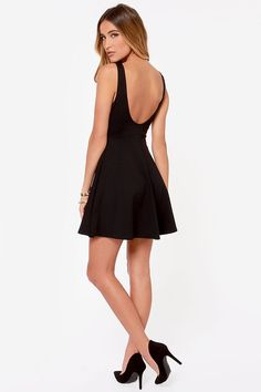 Love it, but it's really short- wear with leggings Pish Posh Black Dress at Lulus.com!
