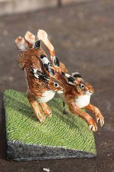 chasingspring hares | by Joe lawrence art work