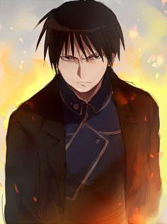 Fullmetal Alchemist - Mustang (his uniform is the same as Hawkeye's)