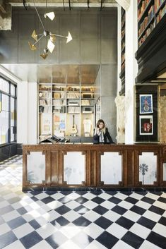 C Social Front photo from the gallery Spotlight: Ace Hotel Los Angeles. Hotel Lobby, Casa Hotel, Hotel Lounge, Bar Lounge, Ace Hotel Los Angeles, Downtown Los Angeles, Design Hotel, Lobby Design, Boutique Hotels